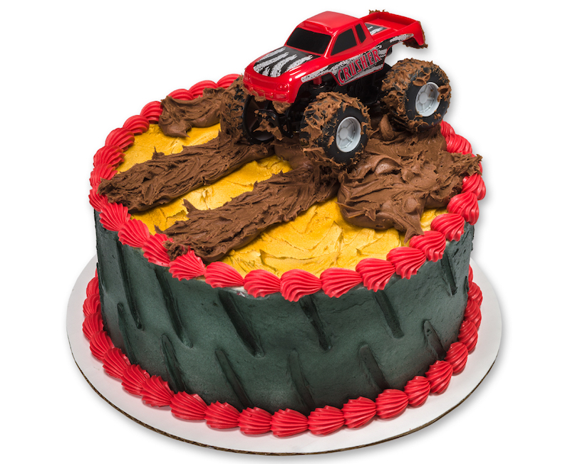 Monster Truck Cake Topper Decoration | Discount Party Supply