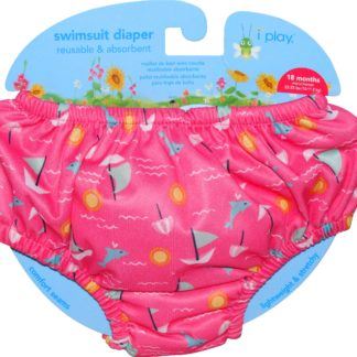 707eb3ef1 i play Toddler Girls' Pull-up Reusable Swim Diaper (Sz 18m - 22-25lbs)