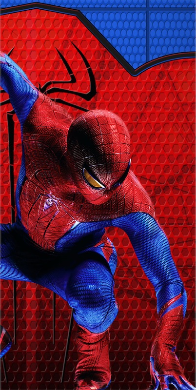Amazing Spiderman 3d Plastic Tablecover 1ct Marvel Party